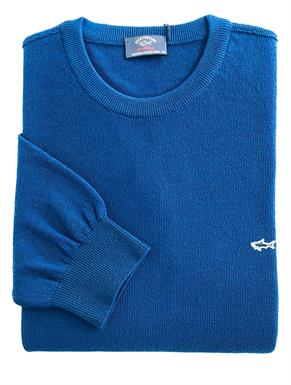 Paul & Shark Pullover/trui in Blauw P19P1523