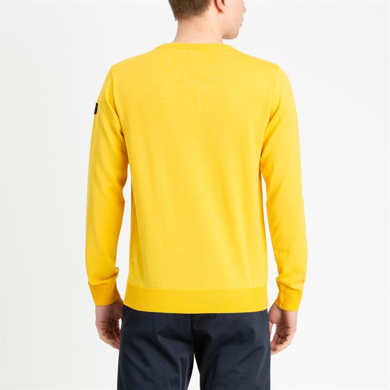 Paul & Shark pullover/trui in geel COP1041