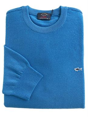 Paul & Shark Pullover/trui in Kobalt P19P1523