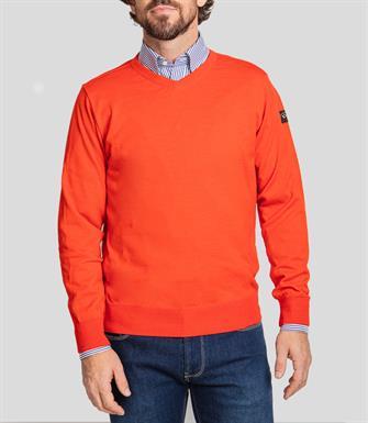 Paul & Shark pullover/trui in oranje COP1041