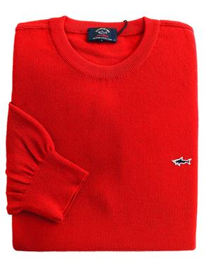 Paul & Shark Pullover/trui in Rood P19P1523