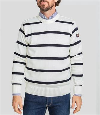Paul & Shark pullover/trui in wit - C0P1031