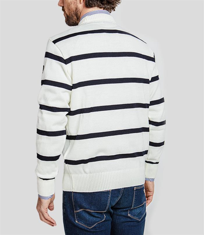Paul & Shark pullover/trui in wit - C0P1031