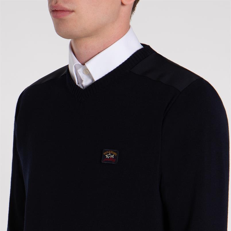 Paul & Shark pullover/trui marine C0P1027
