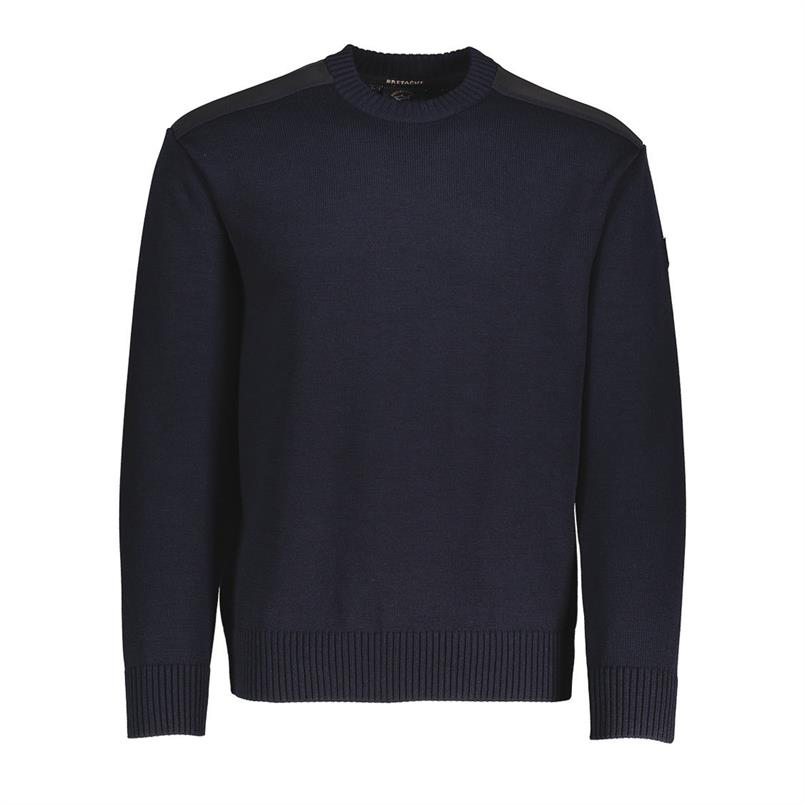 Paul & Shark Pullover/trui ronde hals in navy