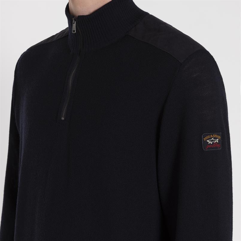 Paul & Shark pullover uni zip - I19P1113