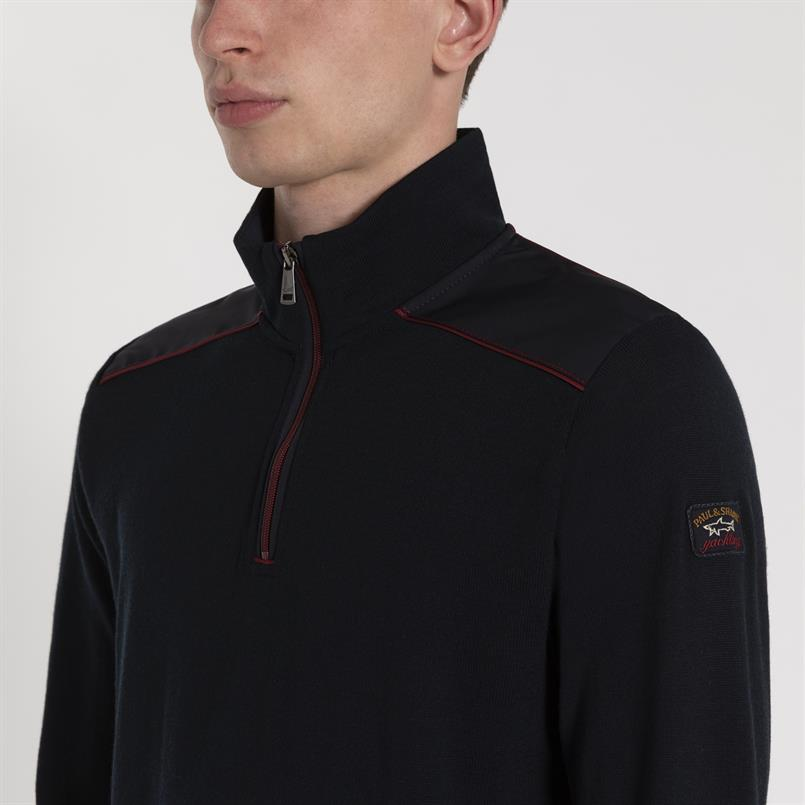 Paul & Shark pullover uni zip - I19P1147