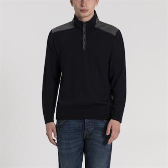 Paul & Shark pullover uni zip - I19P1155