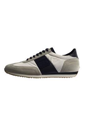 Paul & Shark Sneaker in wit met navy streep