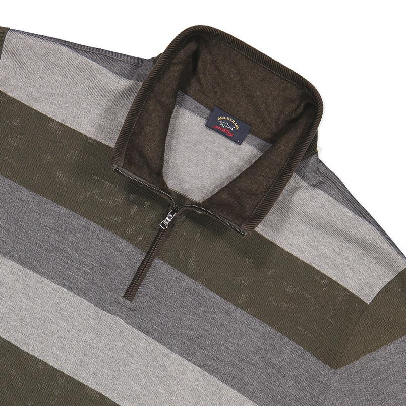 Paul & Shark Trui/pullover met zip I18P1152
