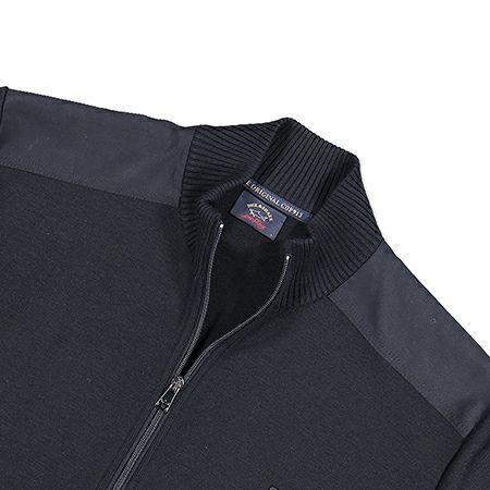Paul & Shark vest met zip in navy - C0P1029
