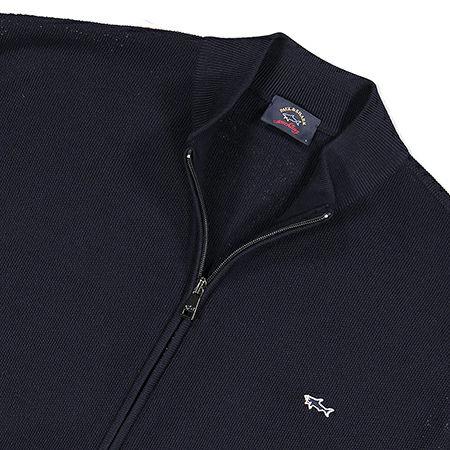Paul & Shark Vest met zipper in Navy P19P1719