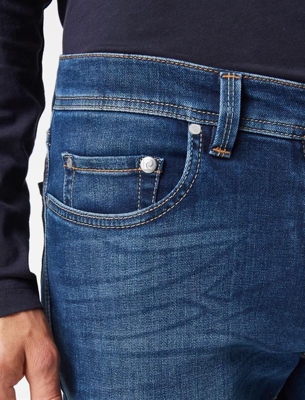 Pierre Cardin Jeans futureflex Blauw Lyon 8880