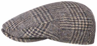 Stetson kent virgin wool check
