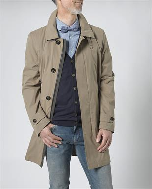 Wellington of Bilmore Jas/coat lang Beige - Sterling