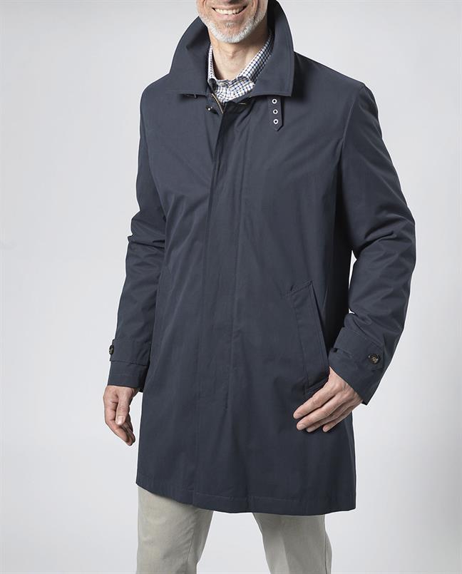 Wellington of Bilmore Jas/coat lang Navy - Sterling